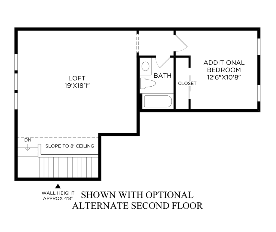 Optional Alternate Second Floor