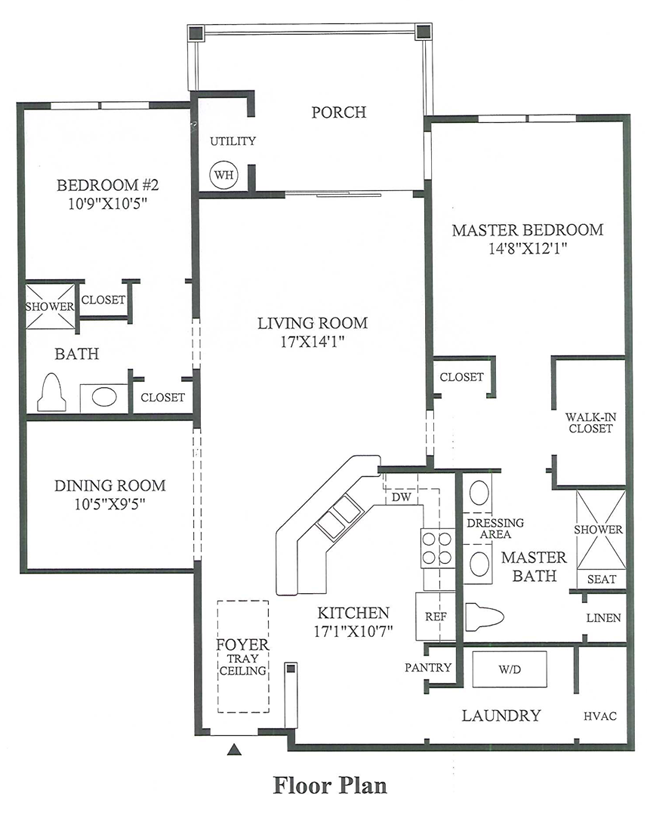 Foxcroft - Floor Plan