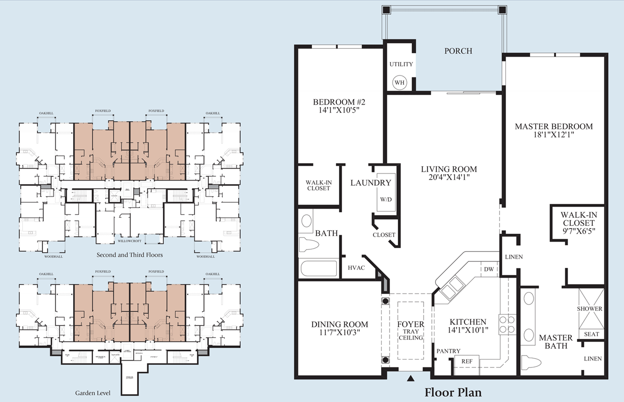 Foxfield - Floor Plan