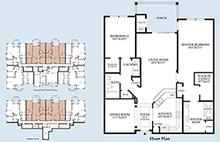 Foxfield - Floor Plan