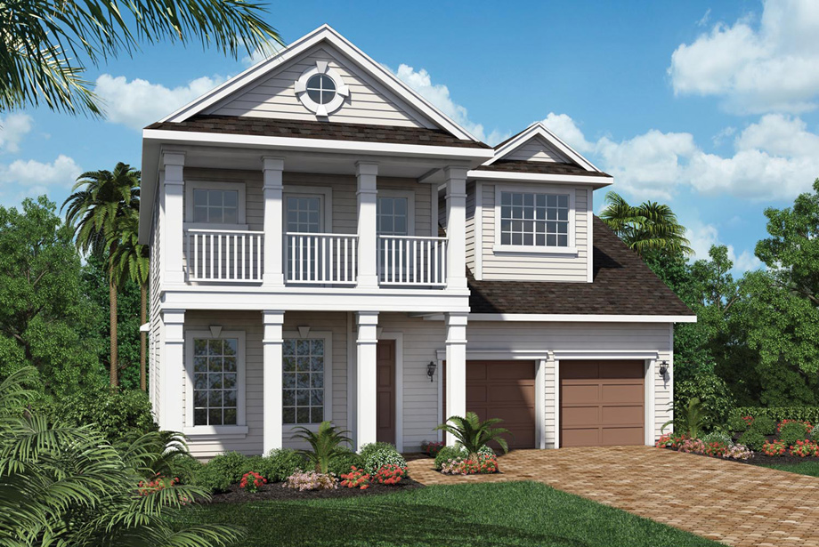 Coastal Oaks At Nocatee Legacy Collection The Franklin