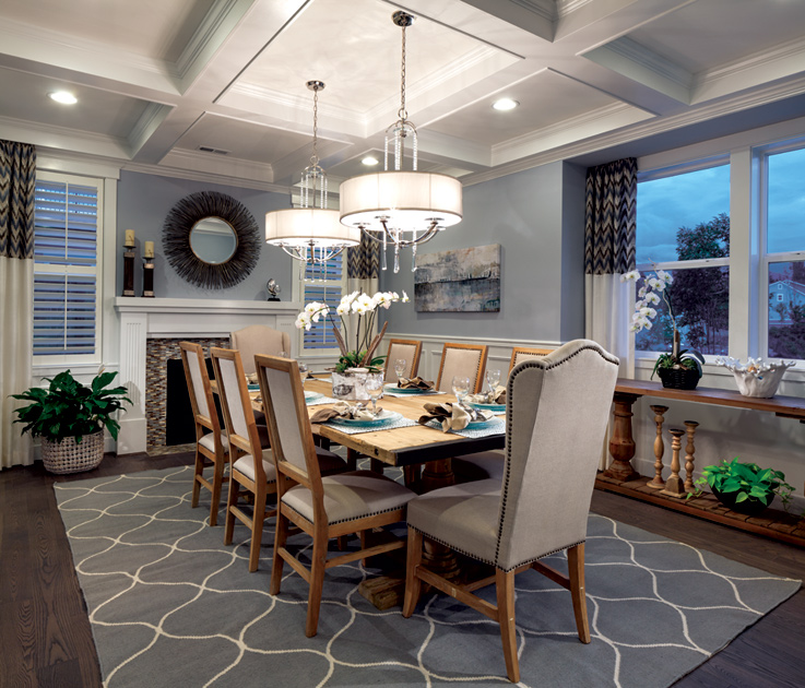 Parkhurst the enatai home design for Property brothers dining room designs