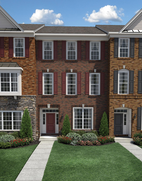 Ann Arbor Mi New Construction Homes North Oaks Of Ann Arbor The Townhome Collection