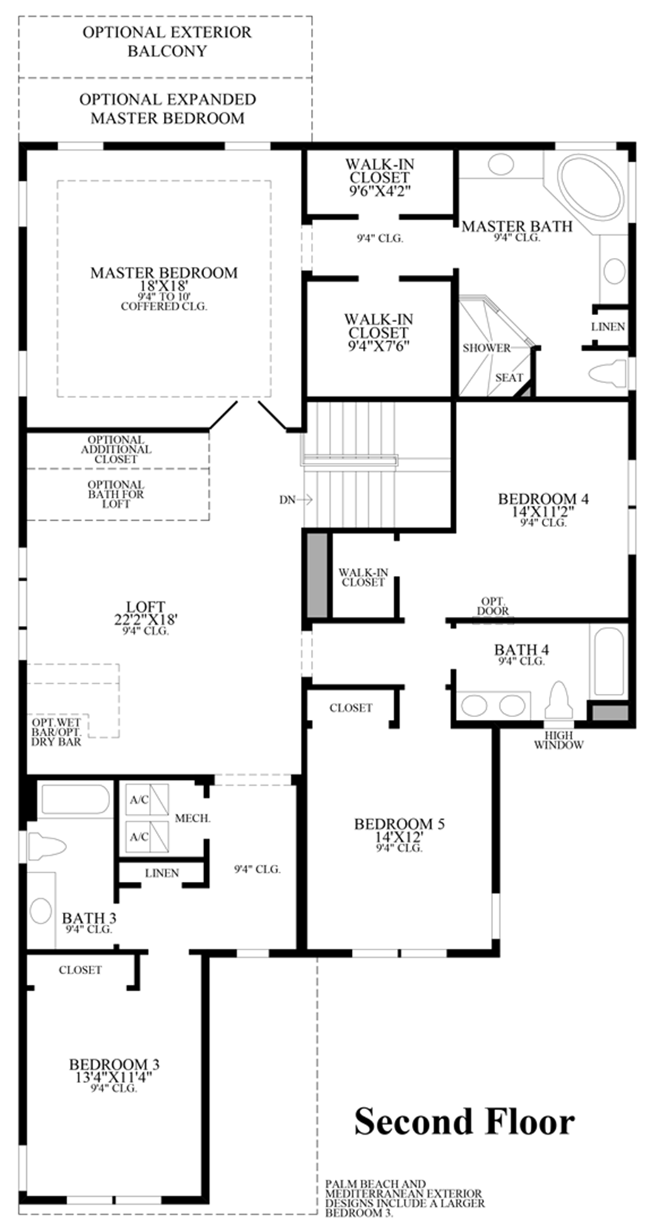 Lakeshore executive collection the gardenia home design Executive floor plans