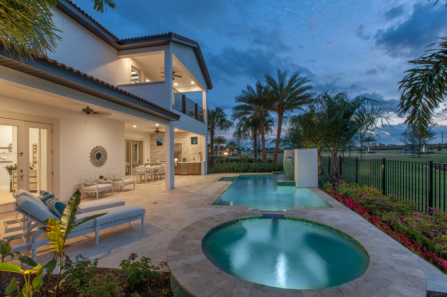 Lakeshore executive collection the madeira fl home for Lakeshore design builders