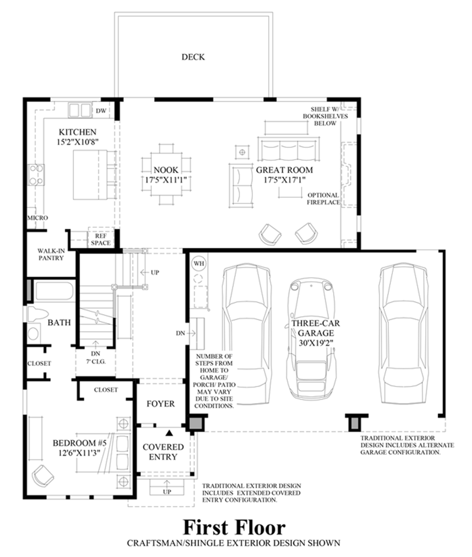 Parkhurst the georgia with basement home design for Design your own basement floor plans
