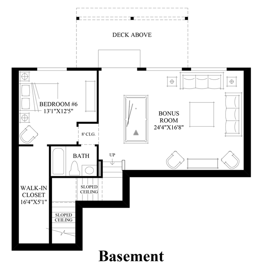 Parkhurst The Georgia With Basement Home Design