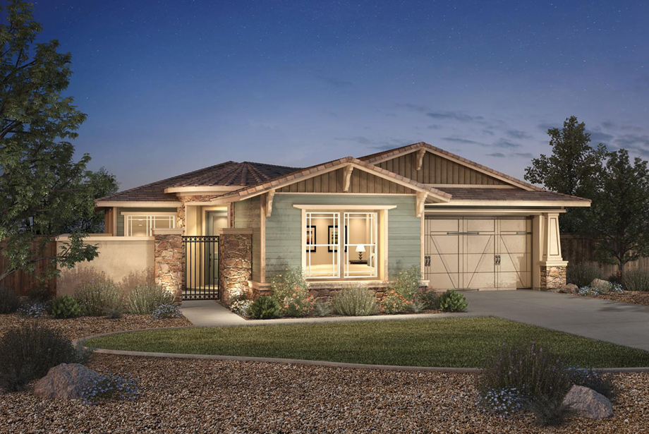 The Gilmore (NV) Craftsman Model
