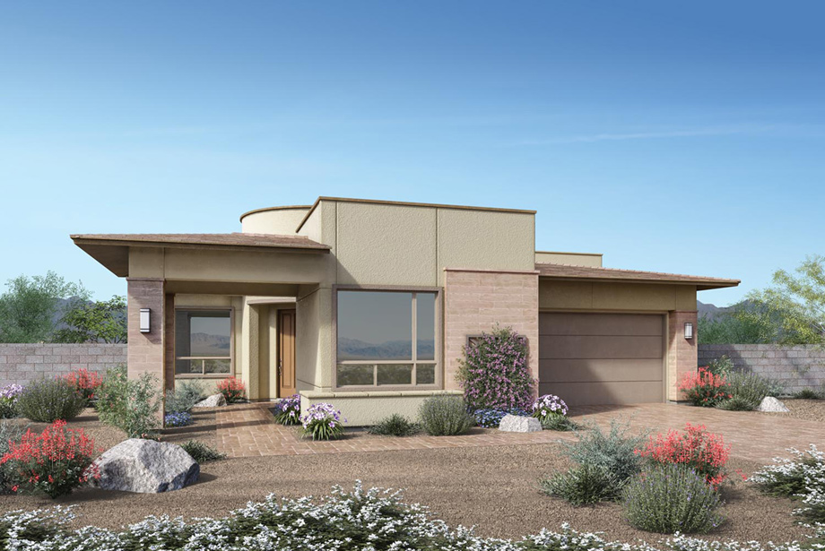 Regency at Summerlin - Summit Collection | The Delamar Home Design
