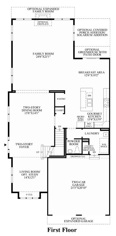 Regency at Holmdel | The Gladstone Home Design