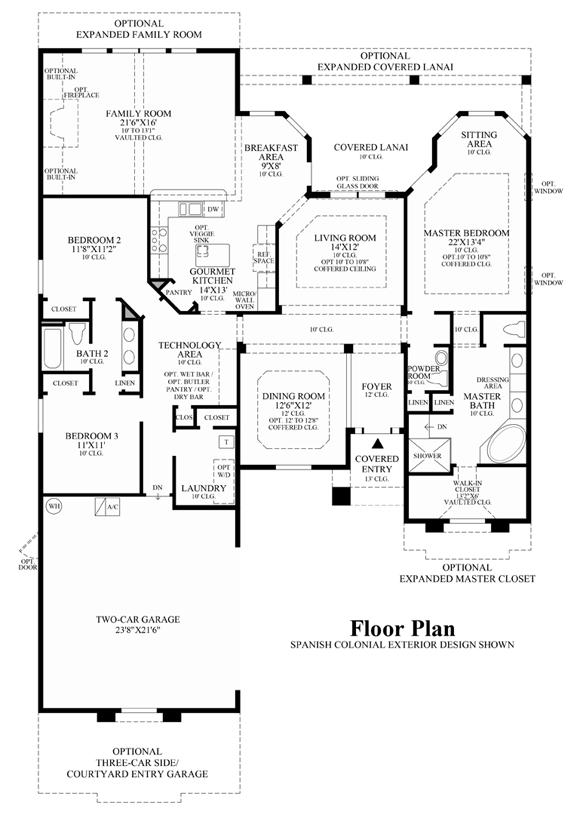 Grandville - Floor Plan