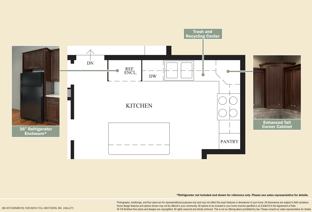 New luxury homes for sale in ashburn va loudoun valley for Design your own kitchen floor plan