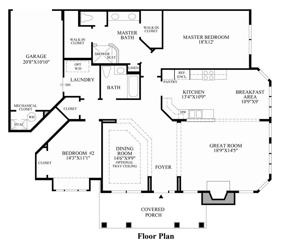 Hampstead - Floor Plan