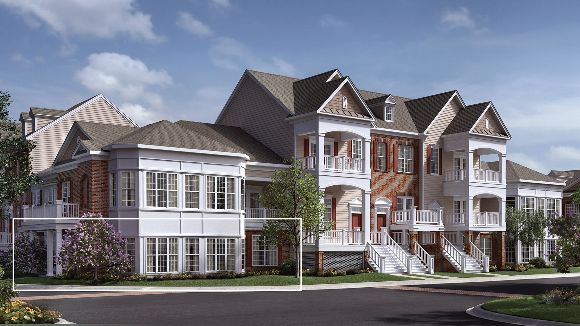 Brier creek country club cottages collection the for Elite home designs