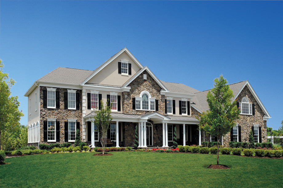 New luxury homes for sale in haymarket va dominion for Model houses in new york