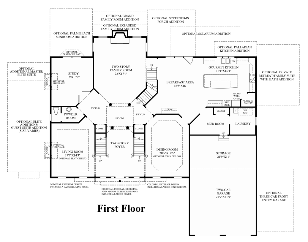 Hampton - 1st Floor