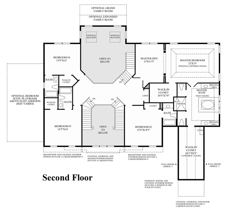 Designers Den Hampton Va: 2nd Floor Floor Plan