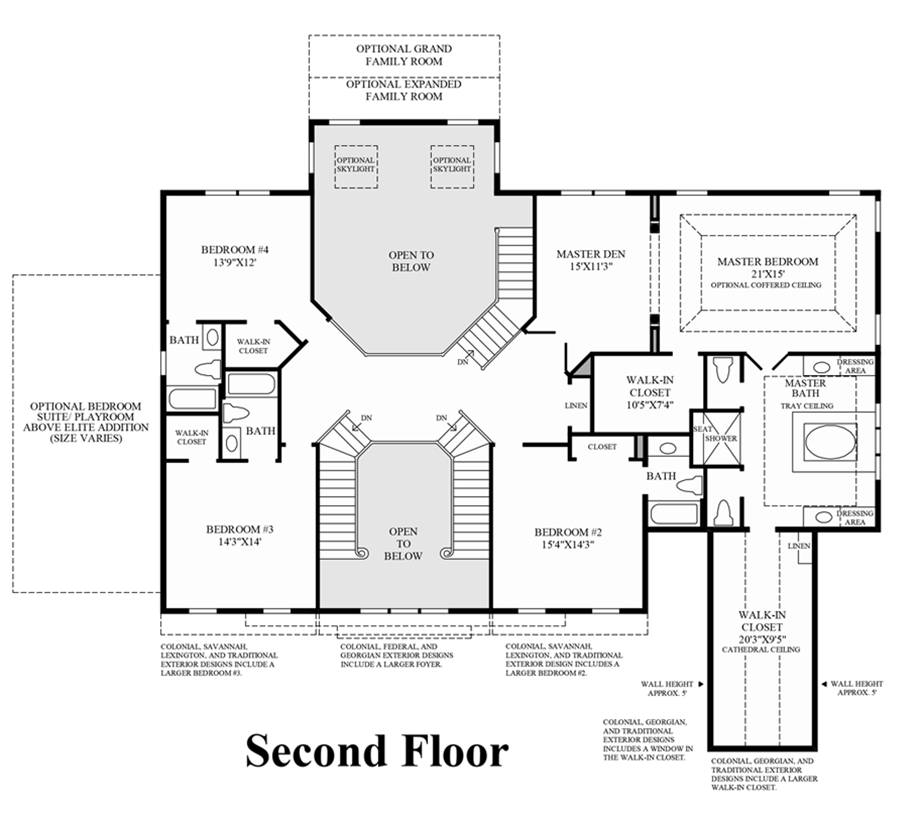 Hampton Floor Plan