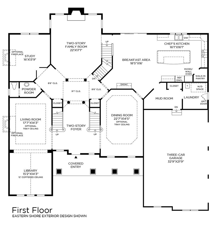 Orchard Ridge at Mahwah | The Hampton Home Design