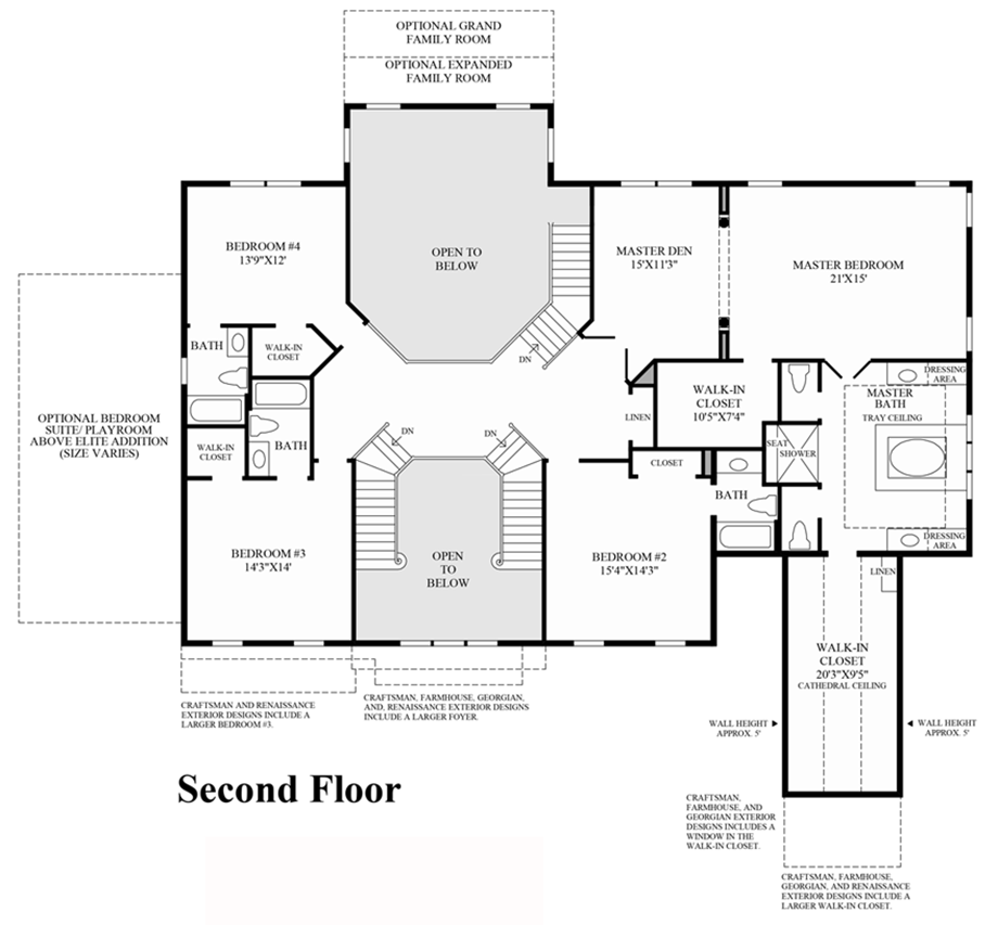Preserve At Marvin The Hampton Home Design