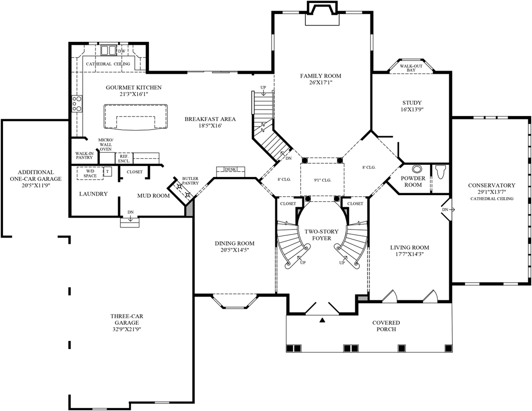 Toll Brothers Floor Plans Virginia: The Hampton Home Design