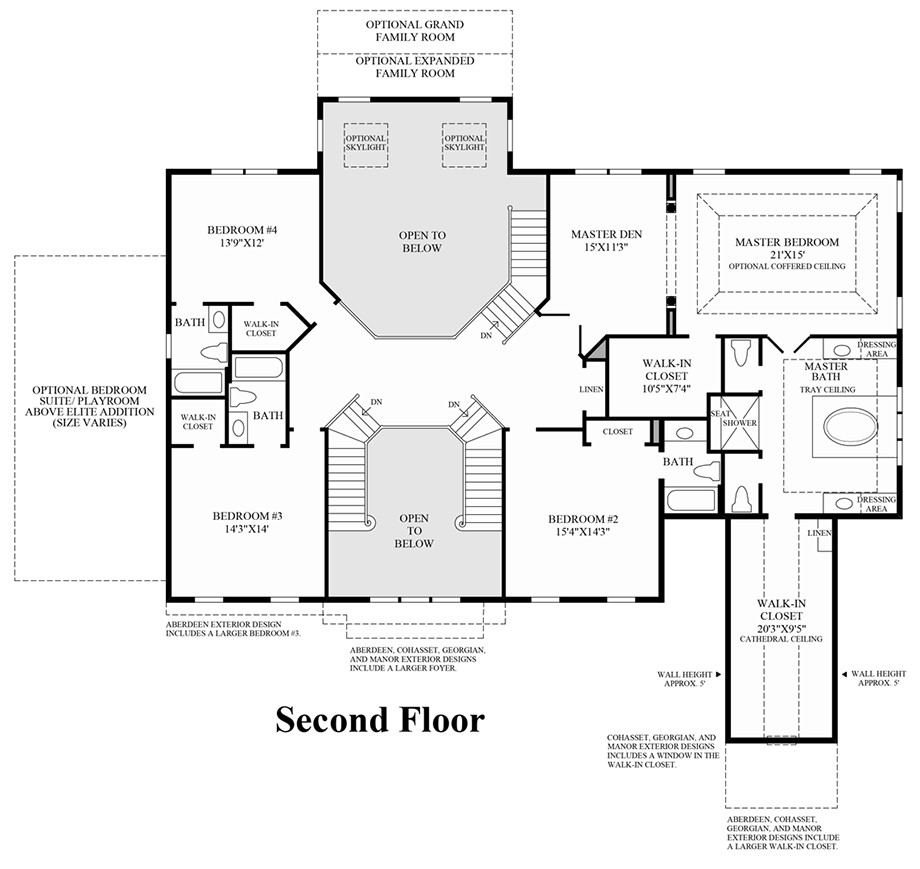 Summit estates at westchester the hampton home design for Summit homes floor plans