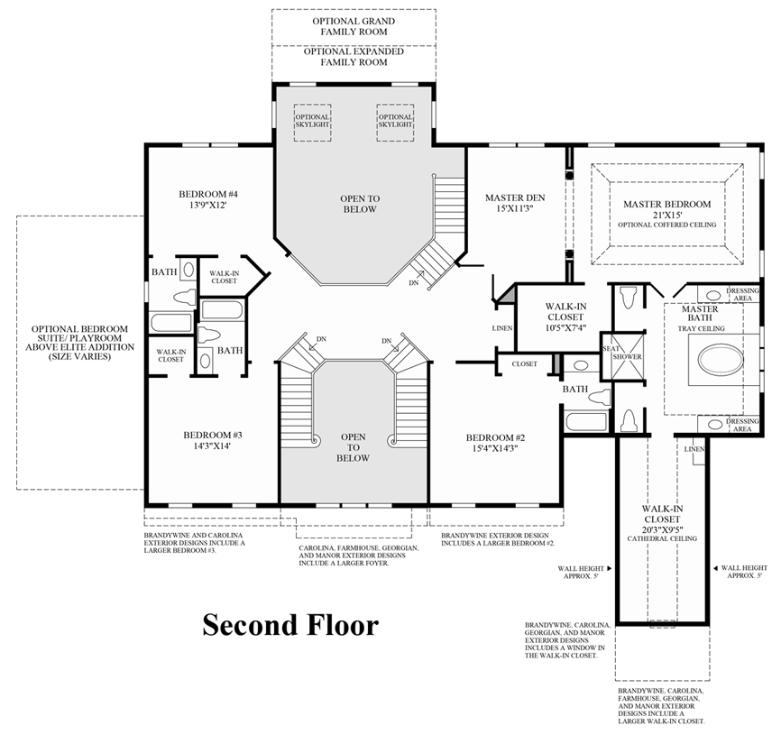 Nv homes monticello floor plan for Monticello floor plan