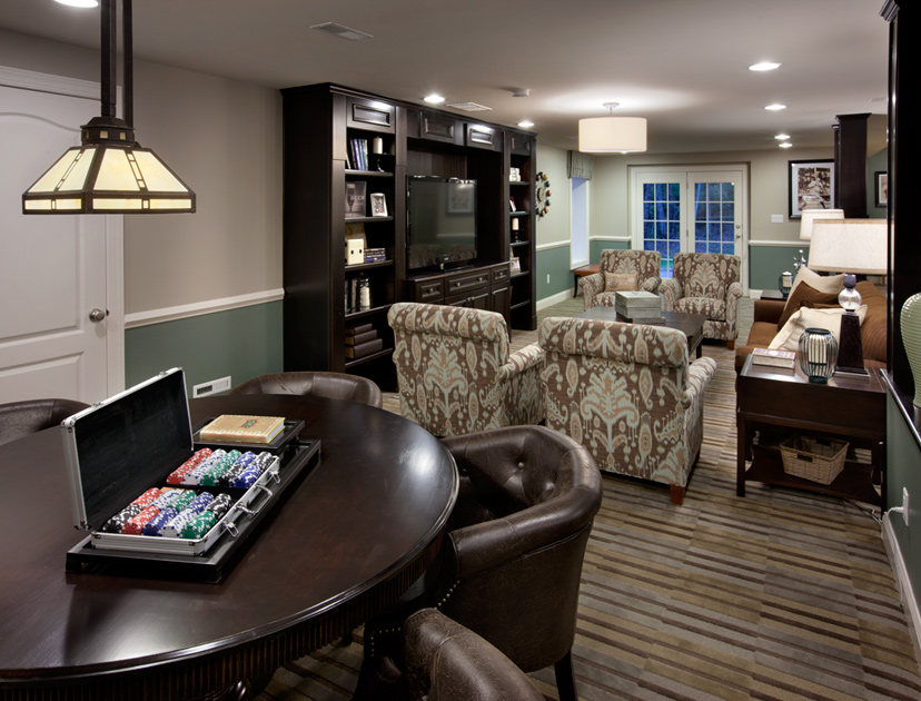 Shenstone reserve the hampton home design for Luxury basements