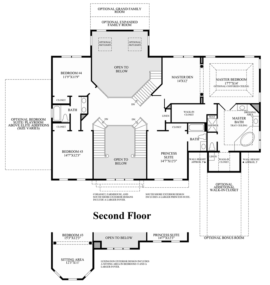 Harding on Toll Brothers Plymouth Floor Plan