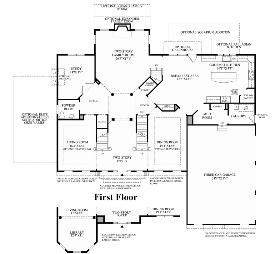 Arbor Homes Floor Plans: New Luxury Homes For Sale In Ann Arbor, MI
