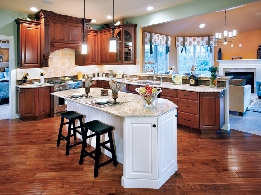 Colts run at monroe the harding home design for Kitchen design 08831