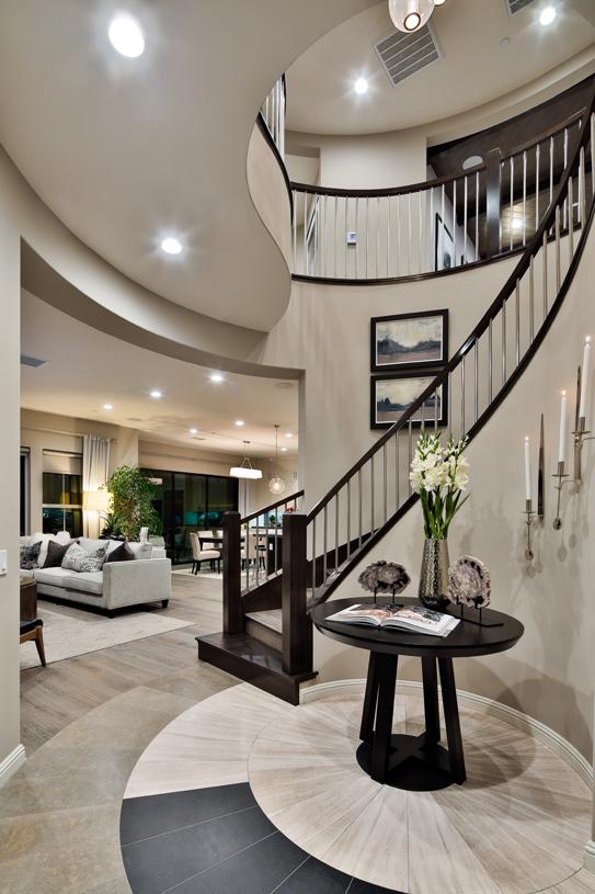 Inviting foyer