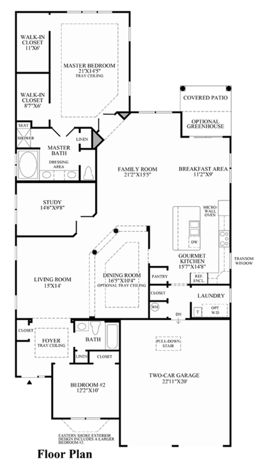 Princeton manor the hasting home design for Sunroom floor plans