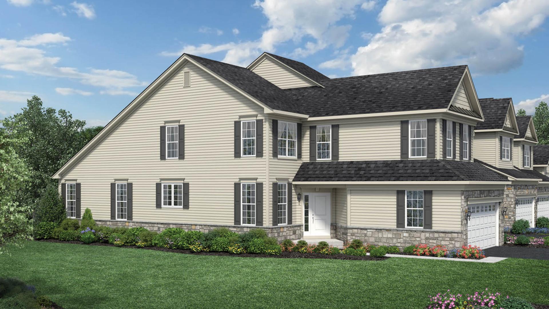 Ridgeview of novi the henderson home design for Michigan design center home tour