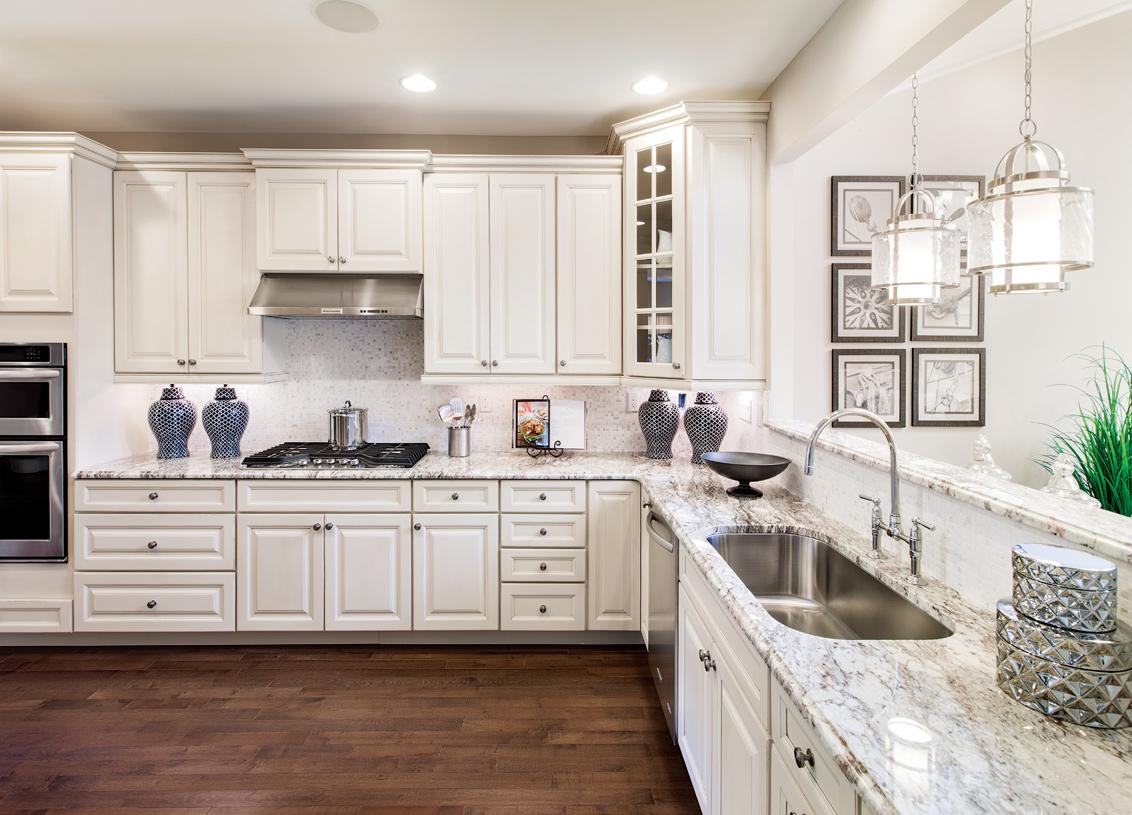 Standard gourmet kitchen layout