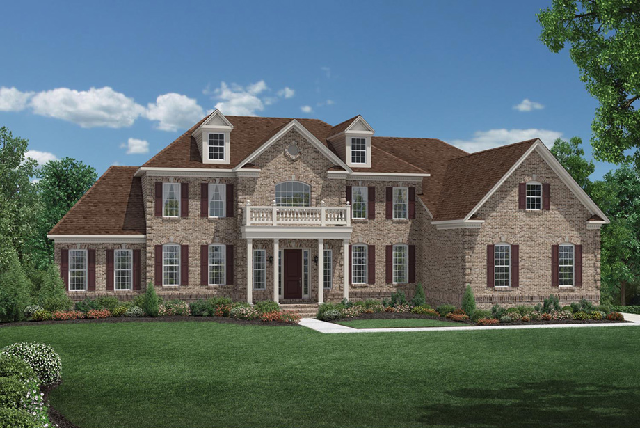 New luxury homes for sale in branchburg nj steeplechase for Large estate house plans