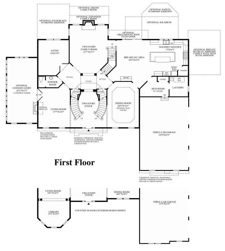 South Ridge Floor Plans: Estates At Mill Creek Ridge