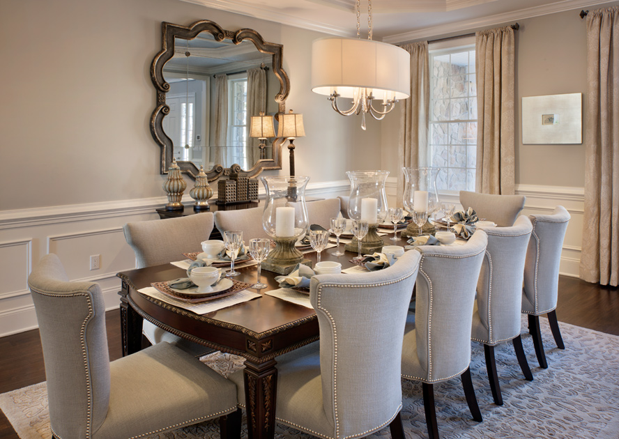 South Barrington Dining Room Project: South Barrington IL New Homes For Sale
