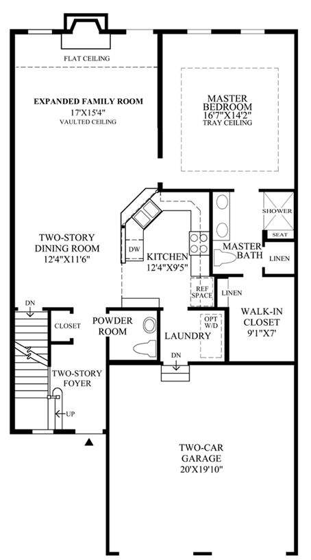 Newtown ct active adult community newtown woods for Luxury townhome plans