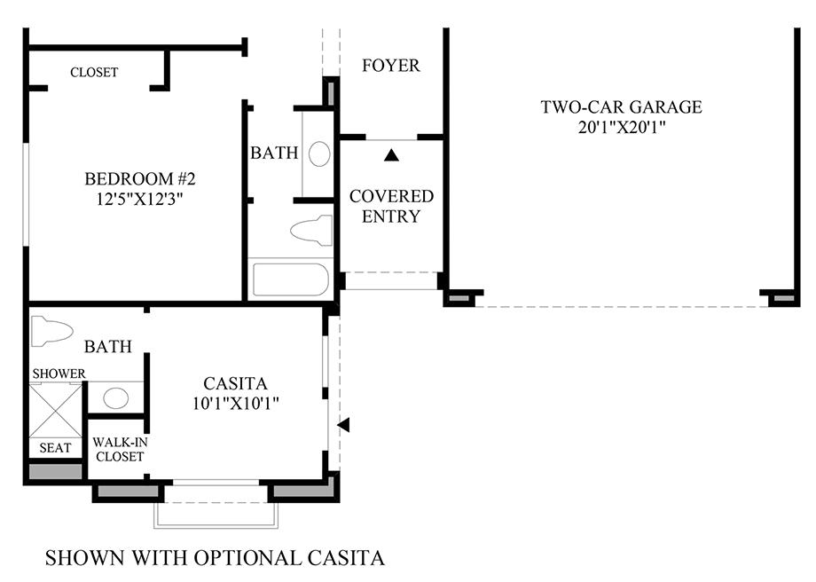 Willow bend at saddle ridge the hillcrest nv home design for Nv homes floor plans