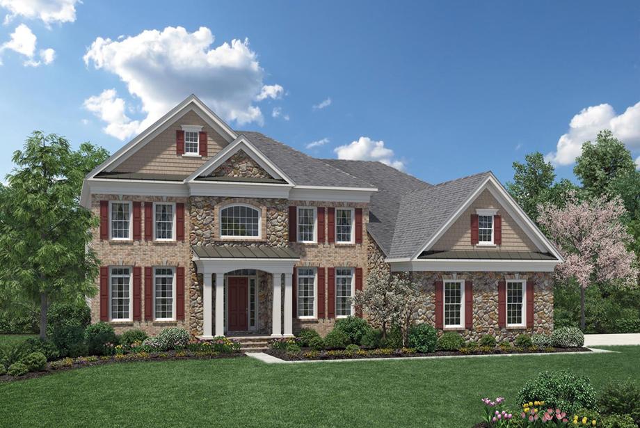 Estates at bamm hollow the hollister home design for Mother daughter home plans