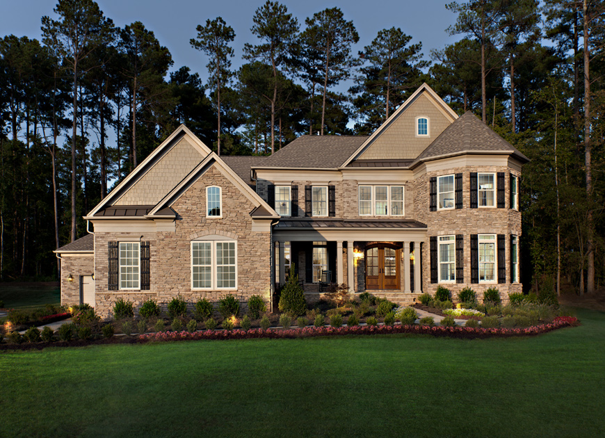 Toll brothers at falls at weddington the hollister home for Home plans charlotte nc
