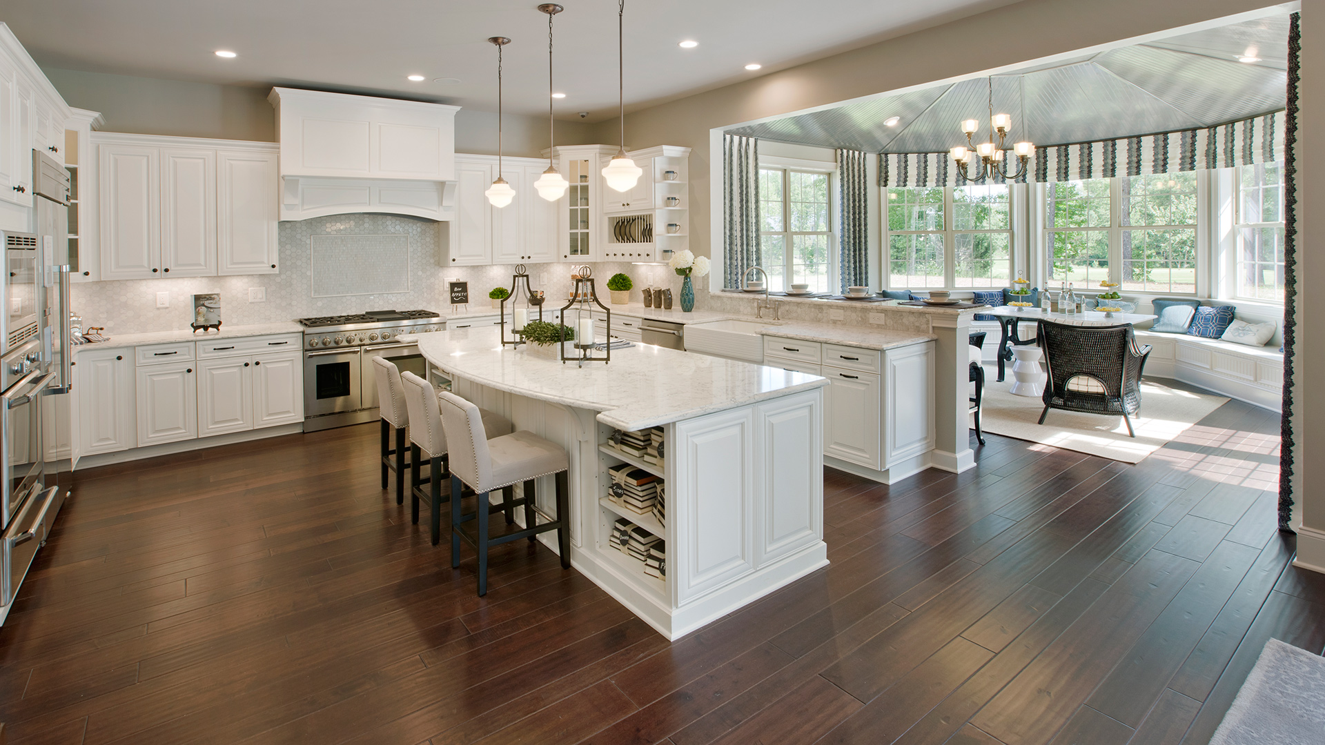 Kitchen Model Of The Hollister Home Design Available In Wake Forest Nc