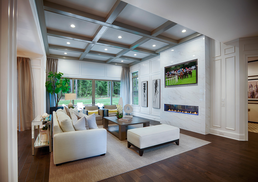 Toll Brothers At Falls At Weddington The Hollister Home