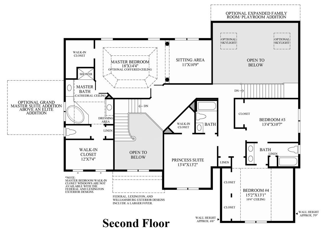 beekman chase the edgebrook home design view floor plans