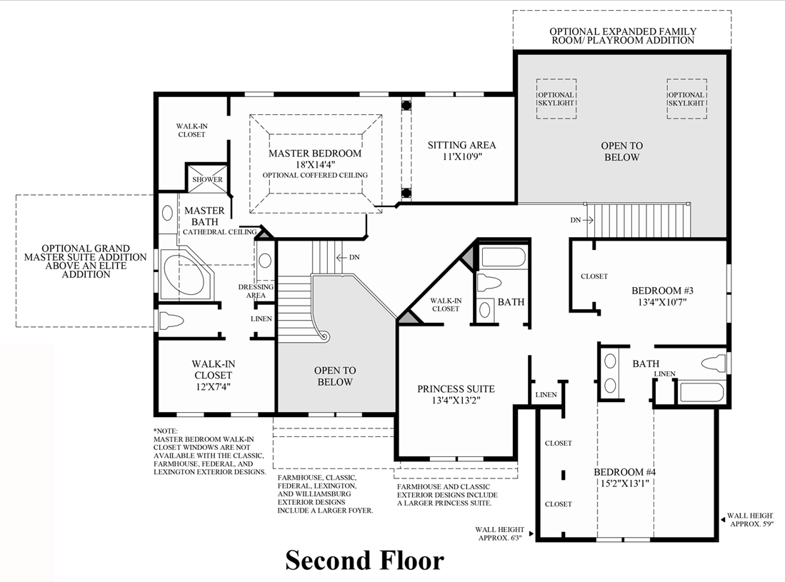 Toll Brothers Floor Plans Virginia: Dominion Valley Country Club - Executives