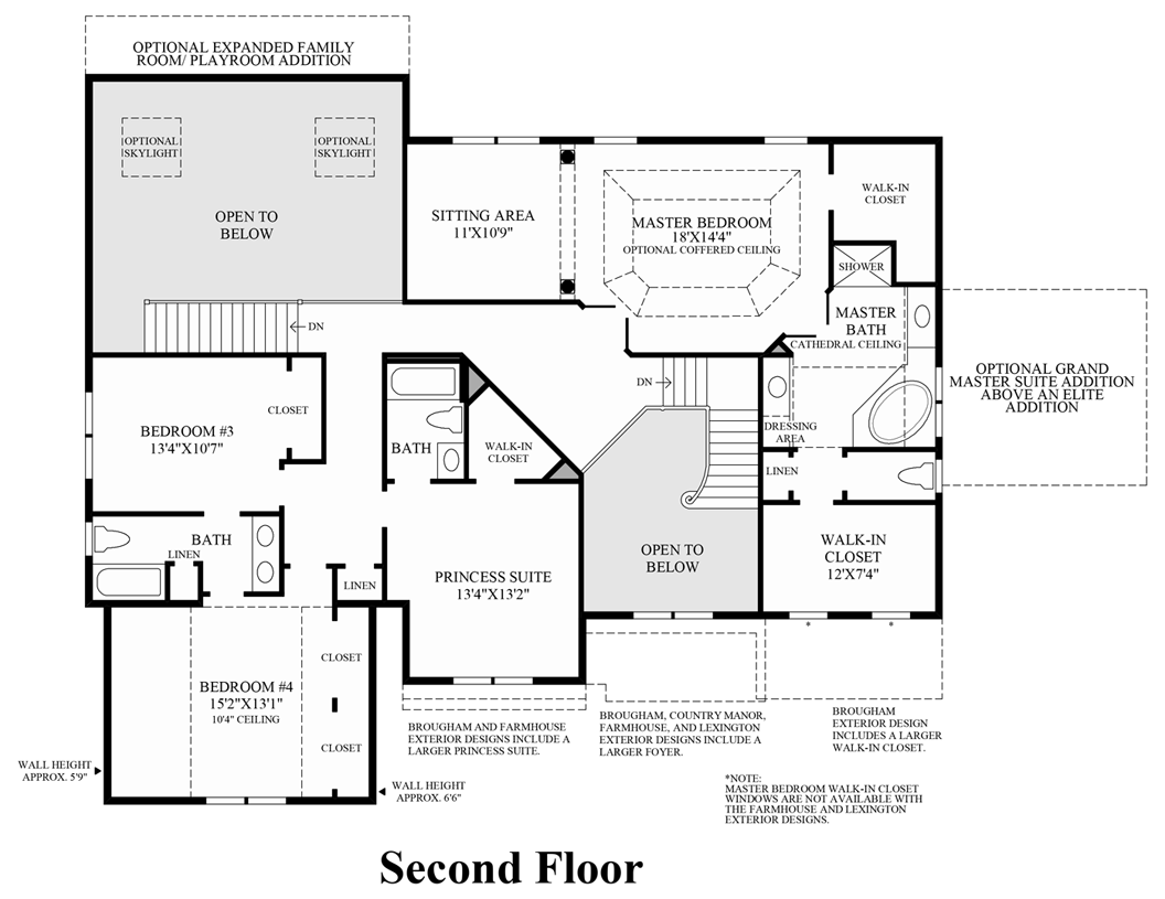 toll brothers at montcaret the weatherstone home design view floor plans