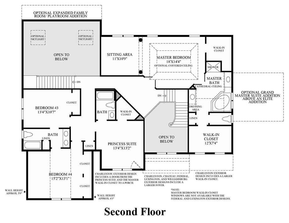 Toll Brothers Floor Plans Virginia: The Hopewell Home Design