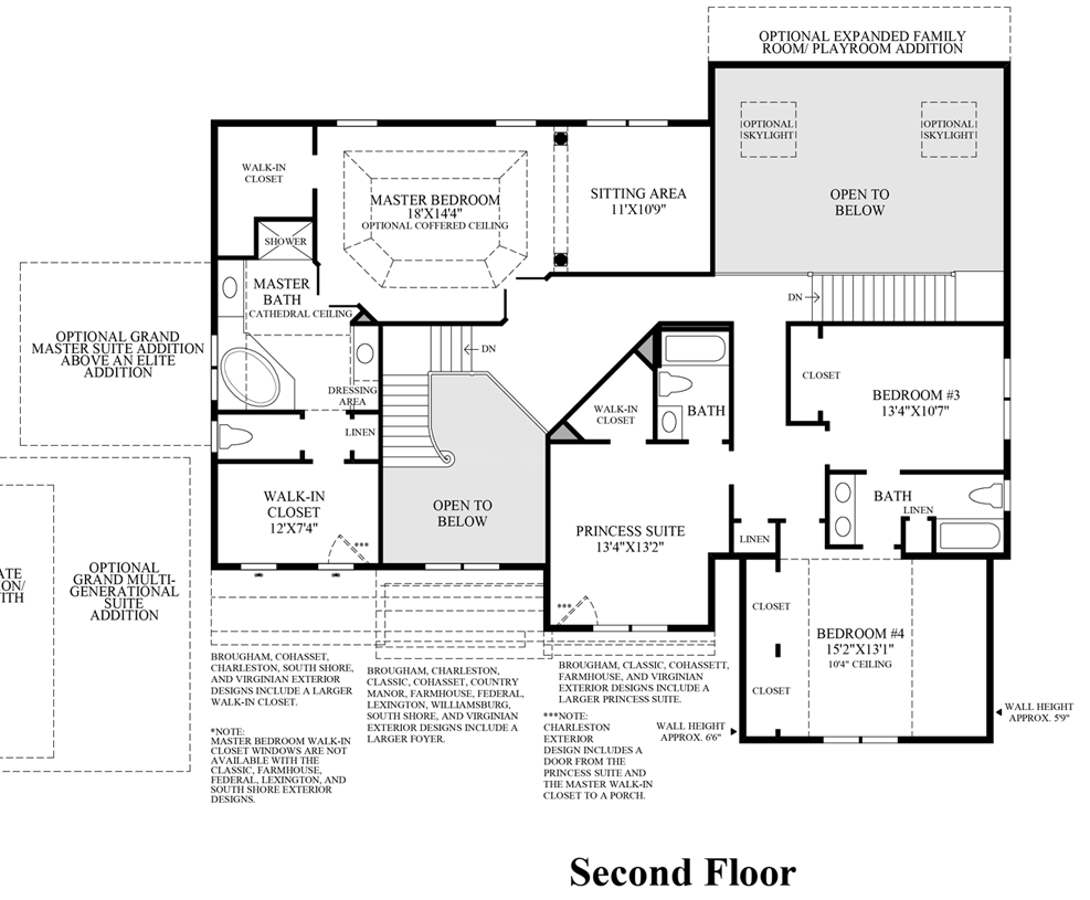 the woods of south barrington signature collection the view floor plans