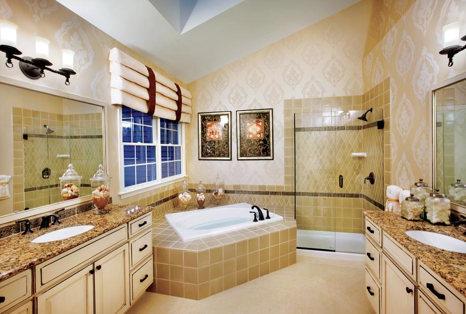 New luxury homes for sale in haymarket va dominion for Bathroom remodeling williamsburg va